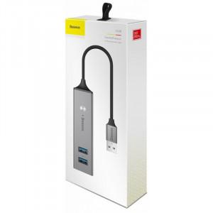 USB-концентратор Baseus Cube (CAHUB-C), разъемов: 5 USB