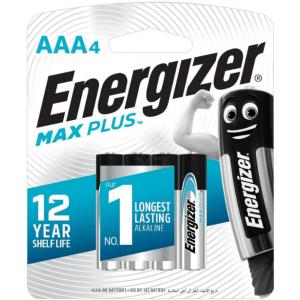Батарейки AAA Energizer LR03 MAX PLUS BL4