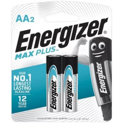 Батарейки AA Energizer LR6 MAX PLUS BL2