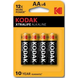 Батарейки AA Kodak LR6 XTRALIFE BL4