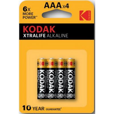 Батарейки AAA Kodak LR03 XTRALIFE BL4