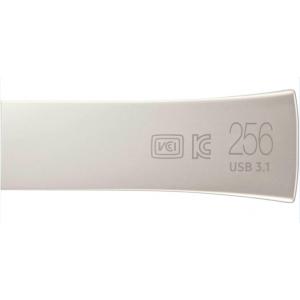Флешка 256GB Samsung Bar Plus USB 3.1 серебро