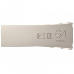 Флешка 64GB Samsung Bar Plus USB 3.1 серебро