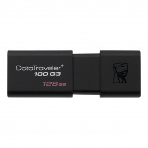 Флешка 128GB Kingston DataTraveler 100 G3 USB 3.0