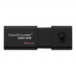 Флешка 64GB Kingston DataTraveler 100 G3 USB 3.0