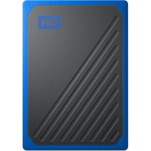 Внешний SSD 500 ГБ WD My Passport Go, синий