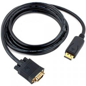 Кабель DisplayPort - VGA CableExpert  (CCP-DPM-VGAM-6) 1.8 метра