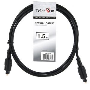 Кабель оптический Toslink Telecom TOC2020-1.5M