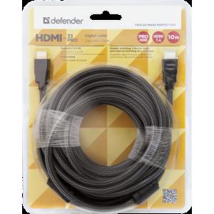Кабель HDMI - HDMI Defender HDMI-33PRO 10 метров