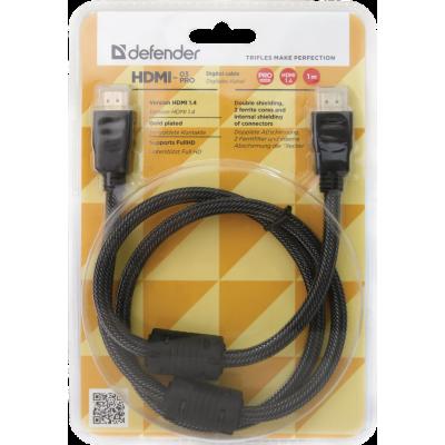 Кабель HDMI - HDMI Defender HDMI-33PRO 1 метр