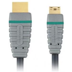 Кабель HDMI - mini HDMI Bandridge, 1 метр