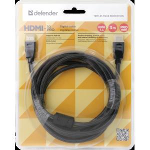Кабель HDMI - HDMI Defender HDMI-33PRO 3 метра