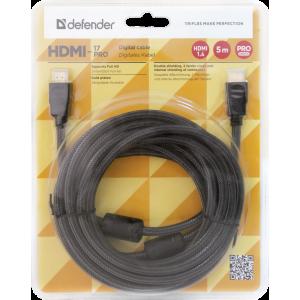 Кабель HDMI - HDMI Defender HDMI-33PRO 5 метров