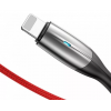 Кабель Baseus Horizontal USB - Lightning (CALSP) 1 метр, красный