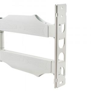 Кронштейн для телевизора Kromax Atlantis-40 white наклонно-поворотный