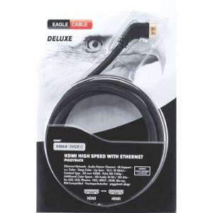 Кабель HDMI - HDMI Eagle Cable Deluxe 10011008 80 см