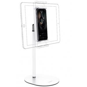Настольный держатель для смартфона Hoco PH31 Soaring белый