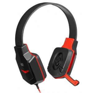 Компьютерная гарнитура Defender Warhead G-320 черный/красный