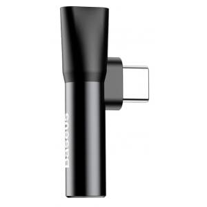 Переходник Baseus USB Type-C - USB Type-C / mini jack 3.5 mm (L41)