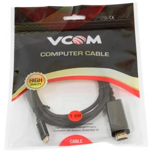Кабель USB Type C HDMI Vcom CU423C-1.8M