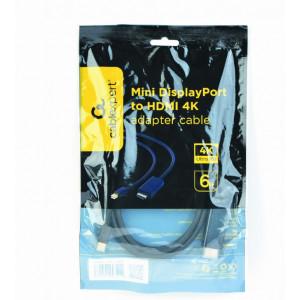 Кабель mini DisplayPort - HDMI Cablexpert  (CC-mDP-HDMI-6) 1.8 метра
