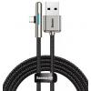 Кабель Baseus Iridescent Lamp USB - Type C (CAT7C) 1 метр, черный