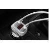 Блок питания автомобильный 2 USB Borofone JoyRoad BZ3 белый