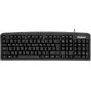 Клавиатура Defender Focus HB-470 RU, проводная черная