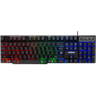 Игровая клавиатура Defender Mayhem GK-360DL, проводная черная