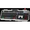 Клавиатура Defender Assault GK-350L RU, проводная серебро