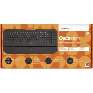 Клавиатура Defender Oscar SM-600 Pro, проводная черная