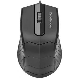 Проводная мышь DEFENDER HIT MB-530, черная