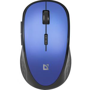 Беспроводная мышь DEFENDER Aero MM-755, синяя