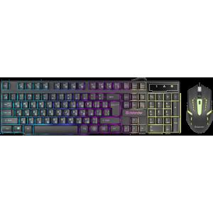 Проводной набор Defender Sydney C-970, мышь + клавиатура