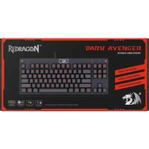 Игровая клавиатура Redragon Dark Avenger, проводная механическая