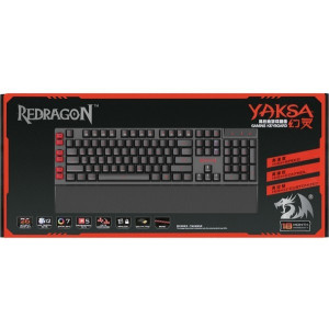 Игровая клавиатура Redragon Yaksa, проводная