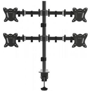 Настольный кронштейн на 4 монитора Arm Media LCD-T14 black