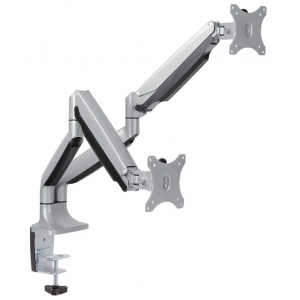 Настольный кронштейн для 2-х мониторов Arm Media LCD-T32 silver
