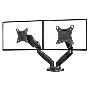 Настольный кронштейн для 2-х мониторов North Bayou F160 Black газлифт