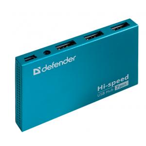 USB-концентратор DEFENDER SEPTIMA SLIM 7 портов