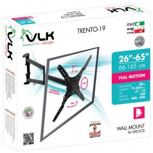Кронштейн для телевизора VLK TRENTO-19 black наклонно-поворотный