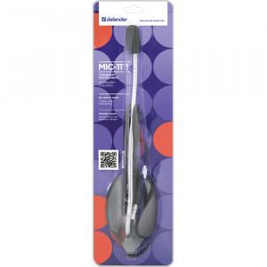 Микрофон DEFENDER MIC-111 настольный