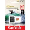 Карта памяти SanDisk Extreme microSDXC A2 160MB/s 128GB + SD адаптер