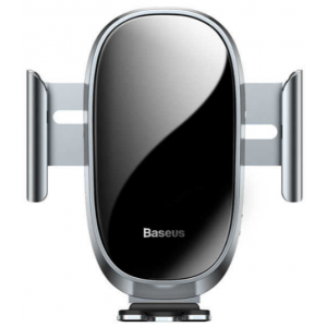 Автомобильный держатель Baseus Smart Car Mount Cell Phone Holder Silver