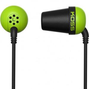 Наушники KOSS The Plug зеленые