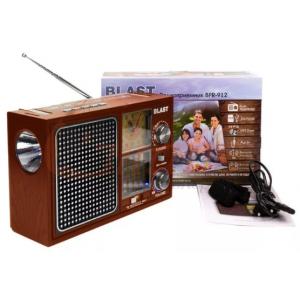 Радиоприемник Blast BPR-912 коричневый