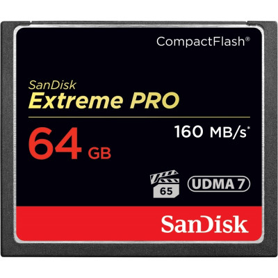 Карта памяти Compact Flash SanDisk Extreme Pro 64GB 160MB/s