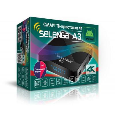 Смарт ТВ – приставка 4K SELENGA А3