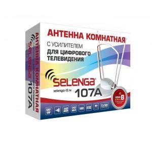 Антенна SELENGA 107A, комнатная, активная
