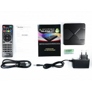 Смарт ТВ – приставка 4K SELENGA А1